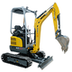Tracked Zero Tail Excavators - EZ20