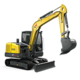 Tracked Conventional Tail Excavators - ET60